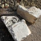 4 Фрагменты резных украшений от зданий, существовавших на территории 54-го завода